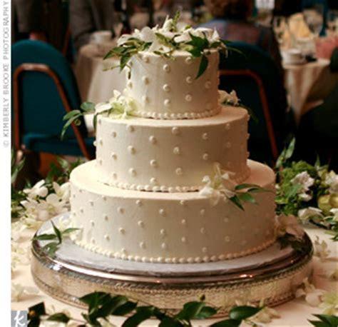A walmart wedding cake!   Weddingbee