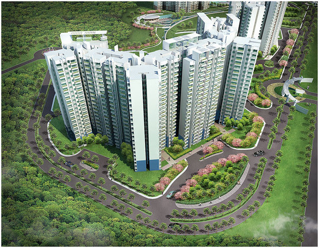 I have seen these digital images of Megapolis, Hinjewadi Phase 3, Pune