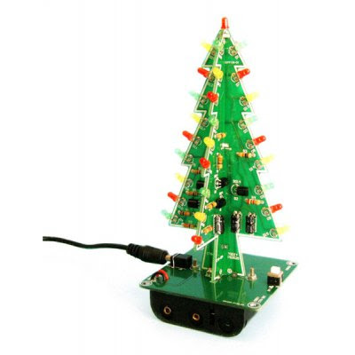 3D Christmas Tree LED Learning Set