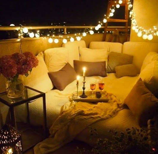 Best of Both Worlds: Ways to Bring Indoor Comforts Outside • Broke and Beautiful