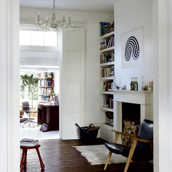 Living room | Tasteful period terrace house tour