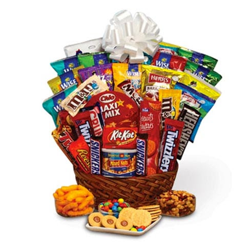 Ideas For A Sweet Basket