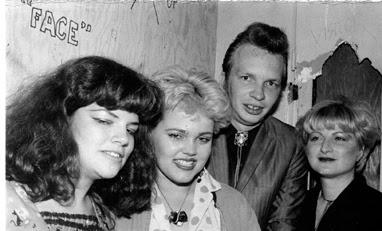Dave Alvin & his ladies