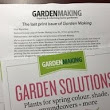 What happens to my Garden Making magazine subscription