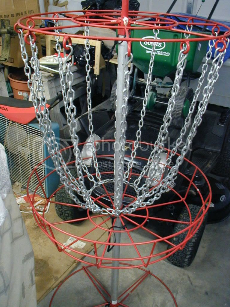 Basket At Costco Archive Disc Golf Course Review