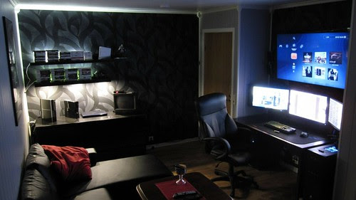 tv geek interior chairs bedroom monitors interior designs remote control gaming room 1920x1080 wa_www.wall321.com_15