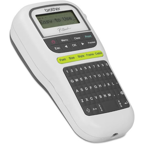 Brother P Touch Easy Portable Label Maker Whitegrey Google Express