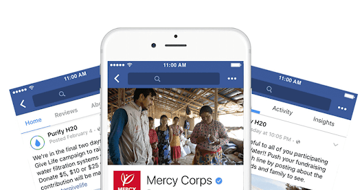 Facebook Adds New Tools, Features for Nonprofit Fundraisers