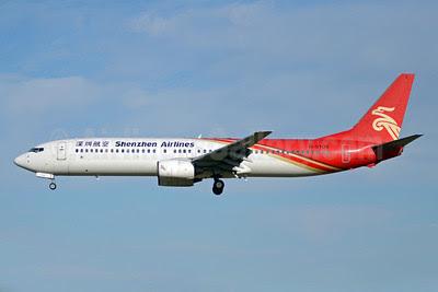 Shenzhen Airlines Boeing 737-97L B-5109 (msn 33649) PEK (TMK Photography). Image: 910449.