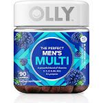 Olly Men's Multi, The Perfect, Gummies, Blackberry Blitz - 90 gummies