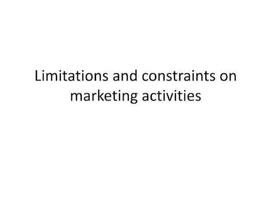limitations and constraints of marketing essay Describe the limitations and constraints of marketing describe the limitations and constraints of marketing  essay $532 add to cart add to.
