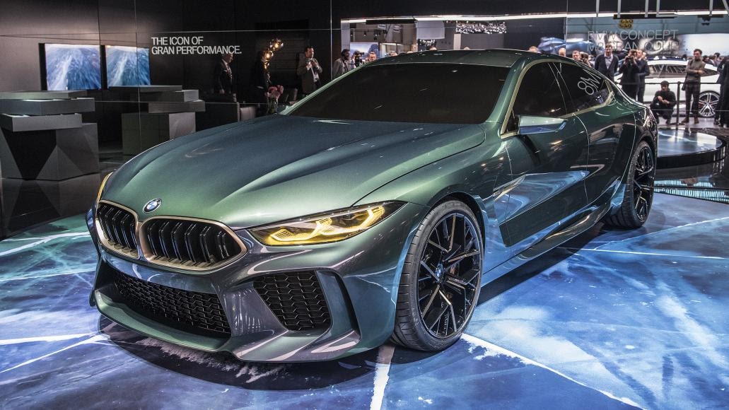 The BMW Concept M8 Gran Coupe is here to challenge the ...