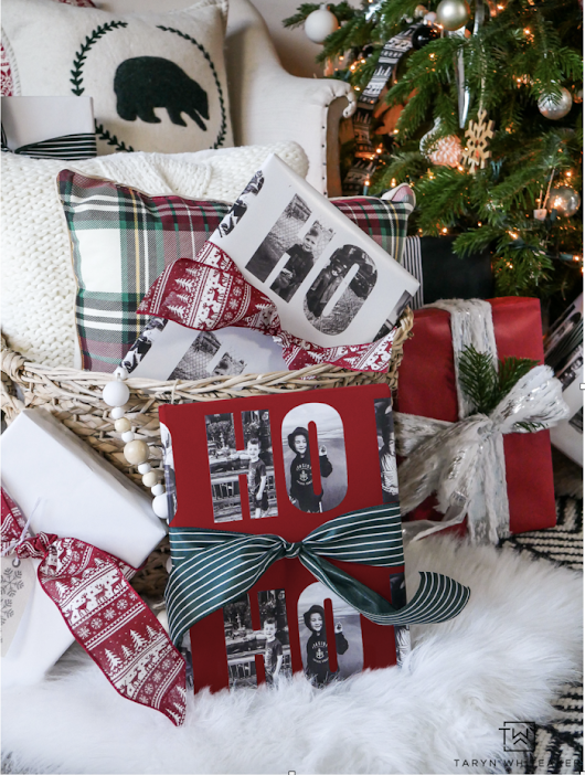 Personalized Christmas Wrapping Paper - Taryn Whiteaker