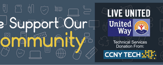 CCNY Tech Donates IT Services to Local United Way | CCNYTech