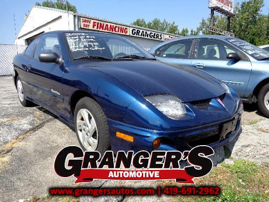 Used 2002 Pontiac Sunfire for Sale in Toledo OH 43605 Granger's Automotive