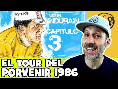 """La LEYENDA de INDURAIN. Capítulo 3. """"EL TOUR DEL PORVENIR de 1986"""" - Alfonso Blanco"""