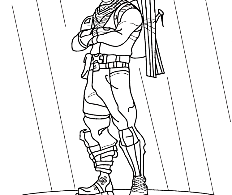 Free Printable Coloring Pages For Kids Fortnite