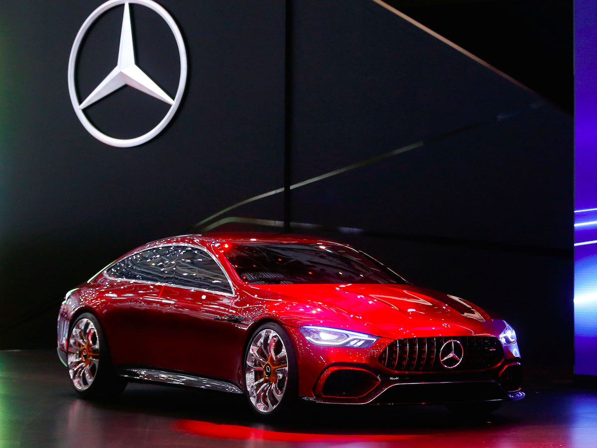 .... A four-door coupe from the company's AMG performance division.