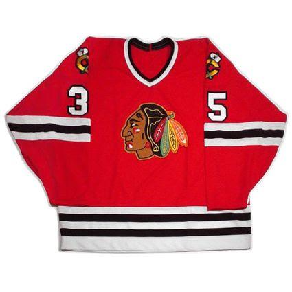 Tony Esposito Black Hawks jersey