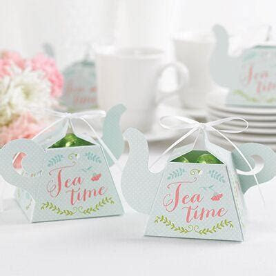 Teapot Tea Time Party Favor Box (Pack of 12) ? Candy Cake
