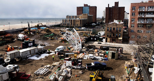 A Crumbling Coney Island Landmark Is Getting a Makeover - The New York Times
