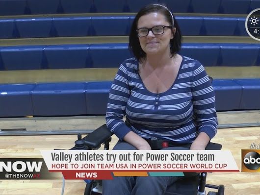 Arizona athletes invited to try-out for Power Soccer World Cup