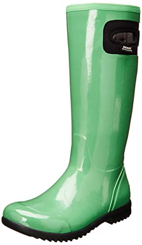 Bogs Women's Tacoma Tall Rain Boot,Leaf Green,10 M US