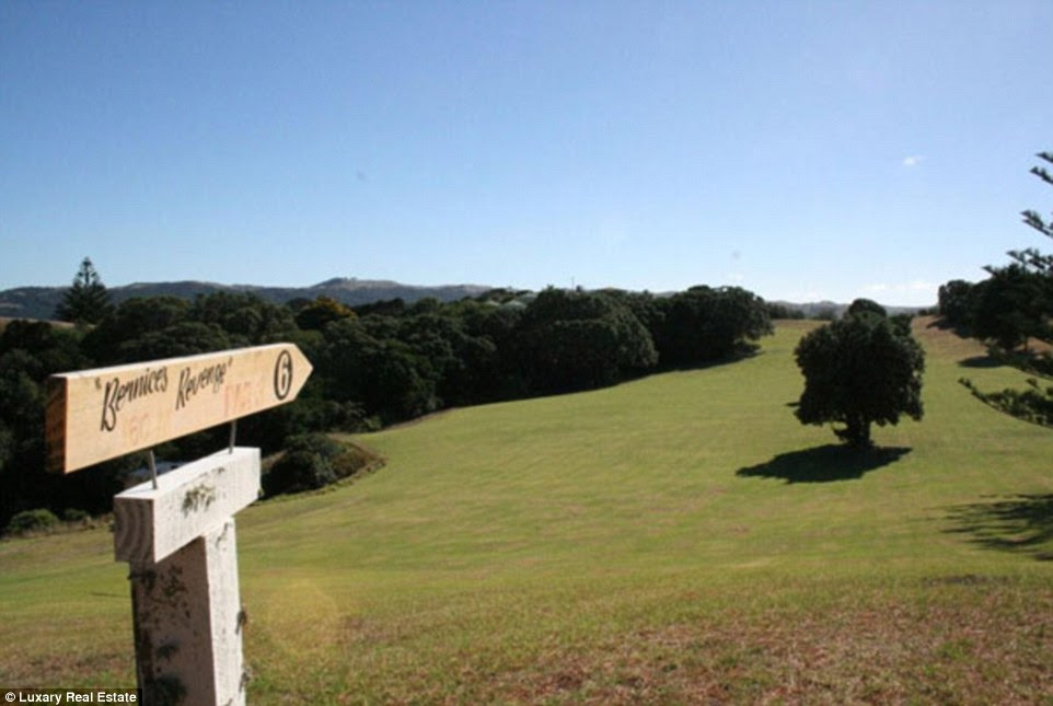Space: Pakatoa Island, in the Hauraki Gulf Islands, has its own golf course, squash court and staff quarters - but exactly how much it will set you back is not known