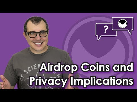 Bitcoin Q&A: Airdrop coins and privacy (by A. Antonopoulos) • r/Bitcoin