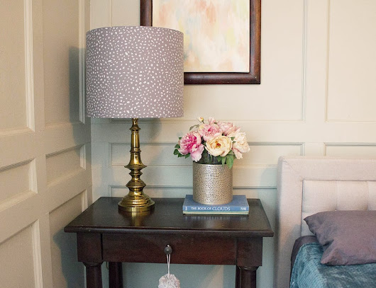 Make your own DIY lamp shade from an I Like That lamp kit