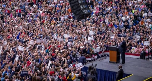 Live Stream: President Trump Rally in Melbourne, Florida 02-18-2017 5pm ET