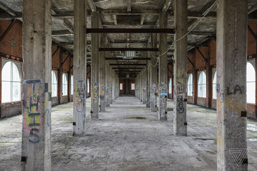 Inside Detroit's crumbling train station that Ford plans to transform into a mobility lab