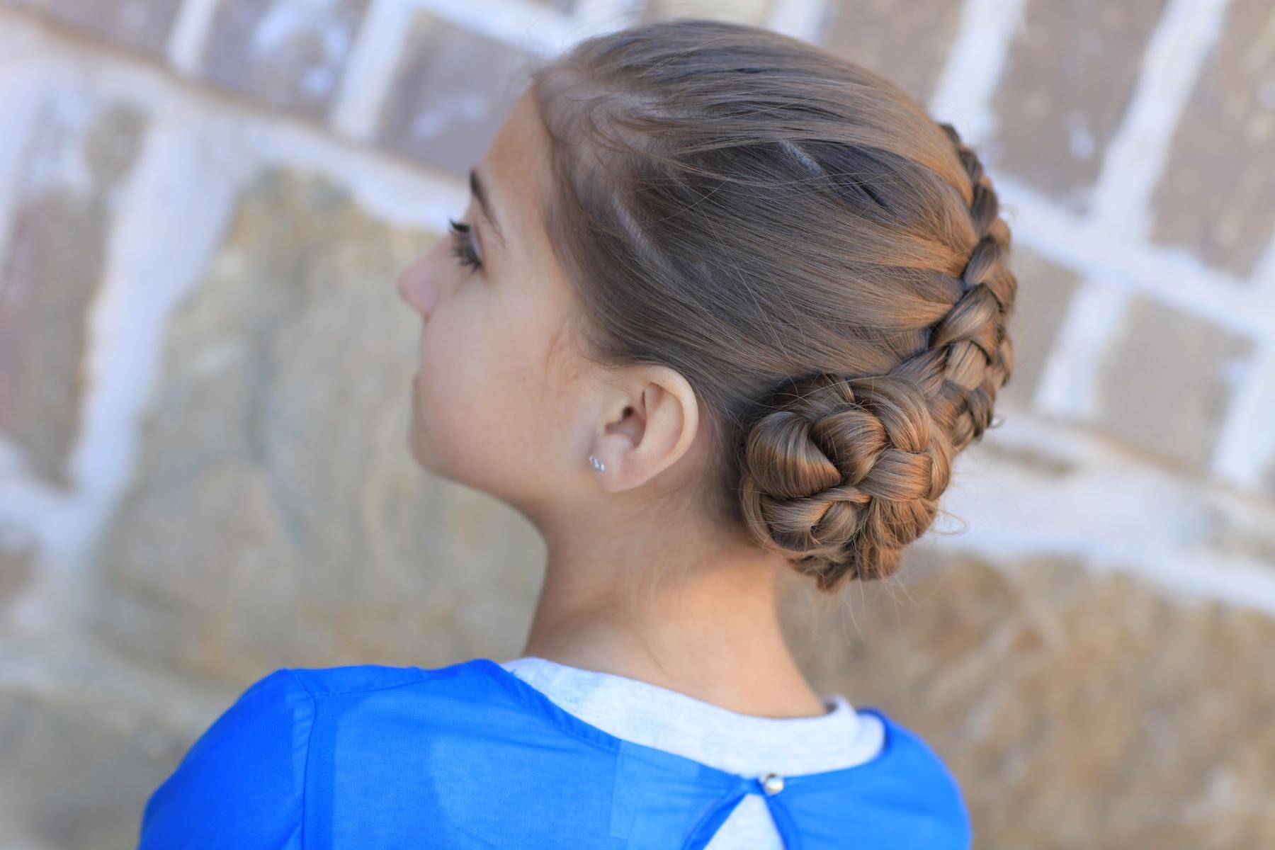 How To Create A Zipper Braid Updo Hairstyles Cute Girls Hairstyles