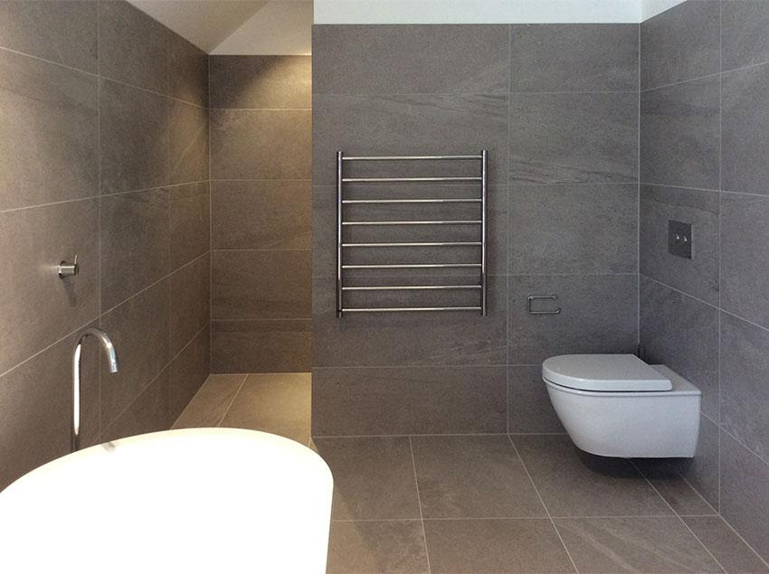 Bluestone - Using large format tiles in small spaces