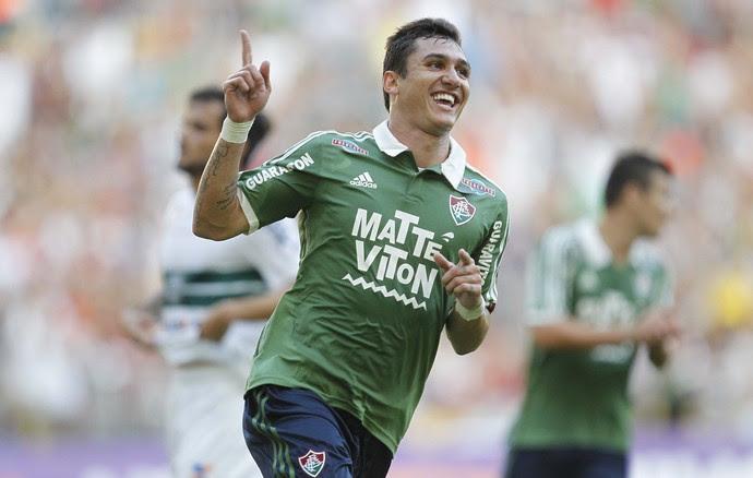 Vinicius Fluminense Coritiba (Foto: Luciano Belford/Agência Estado)