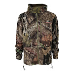 Mossy Oak EHG Heavyweight Insulated Technical Hunting Jacket, Brown (Break-Up), Medium
