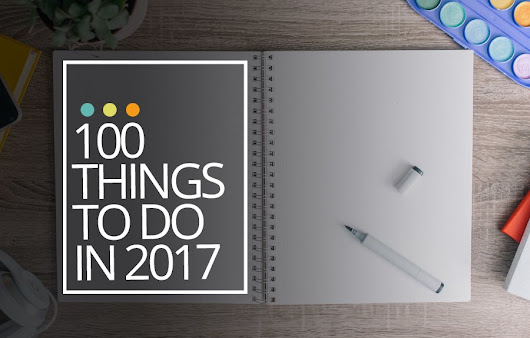 100 Things to do in 2017 - Castaway with Crystal