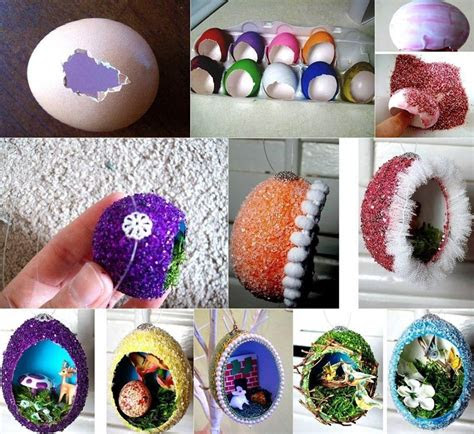 diy easter home craft creative egg shell carvings find