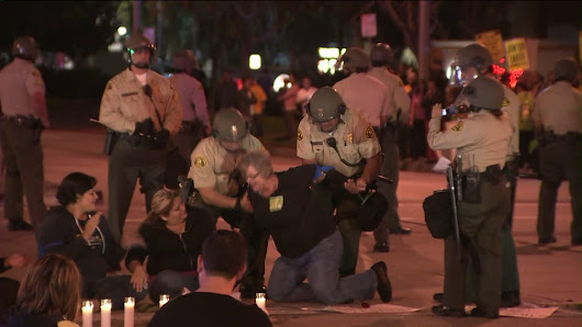 23 labor protesters arrested outside Wal-Mart in Pico Rivera