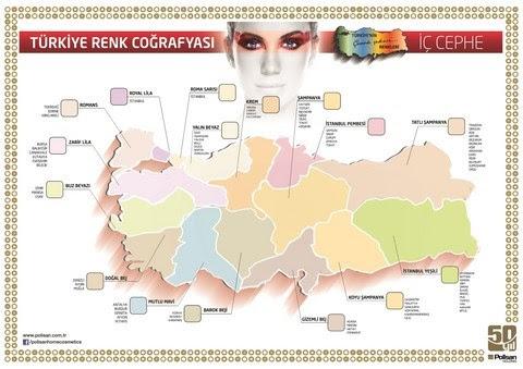 Türkiyede Boyanın Renk Haritasını çıkardı Yapı