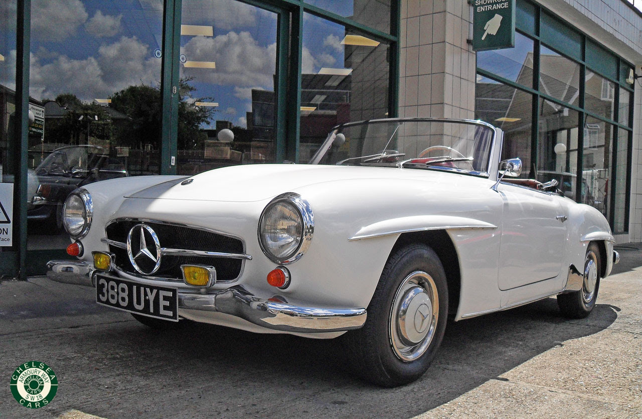 1961 Mercedes Benz 190 SL For Sale | Chelsea Cars