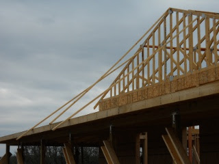 House Roof Trusses Bracing