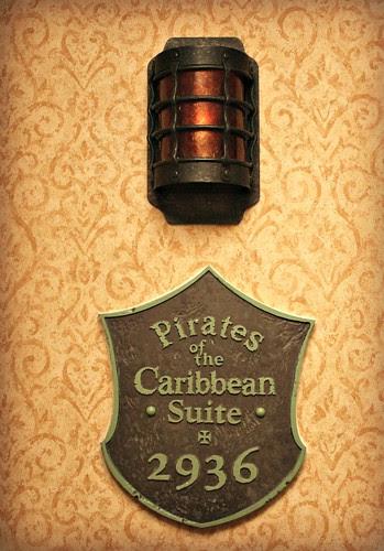Pirates Suite entrance