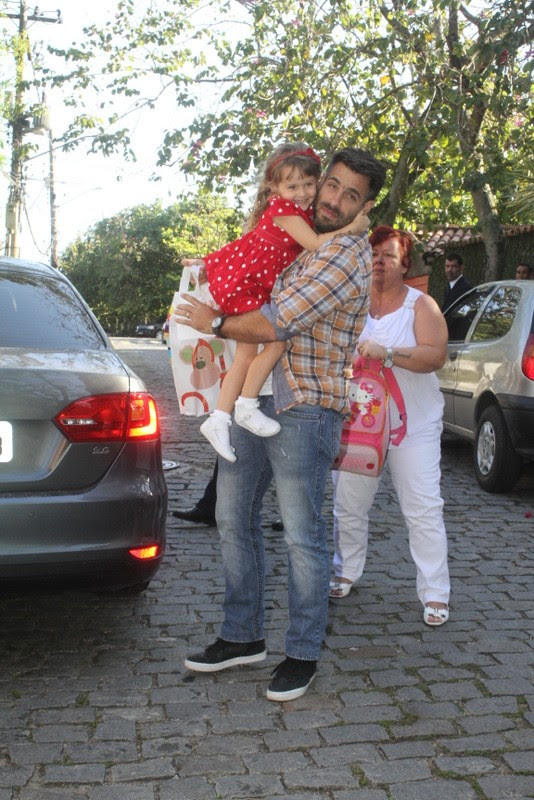 Raoni Carneiro no aniversario de Eva, filha de Angelica e Luciano Huck (Foto: Fabio Martins / Fotorio News)