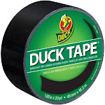 """Duck 1.88"""" x 20yd Duct Industrial Tape Black"""