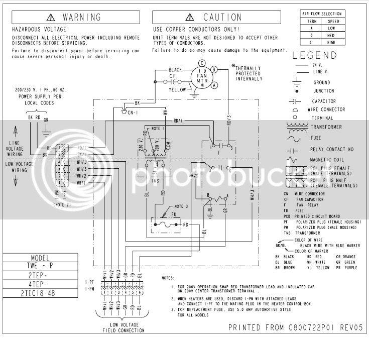 32 Trane Air Handler Wiring Diagram