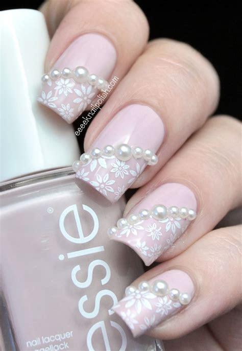25  best ideas about Elegant bridal nails on Pinterest