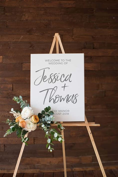 The 25  best Wedding welcome signs ideas on Pinterest