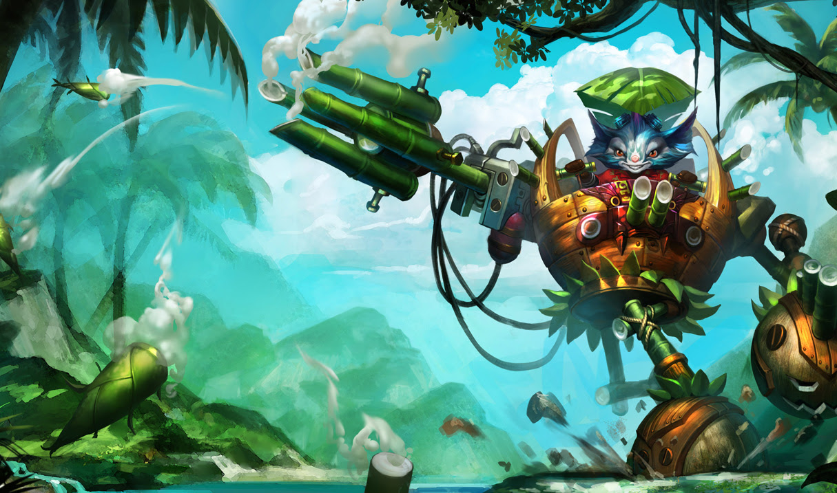 Rumble In The Jungle Skin Chinese League Of Legends Wallpapers