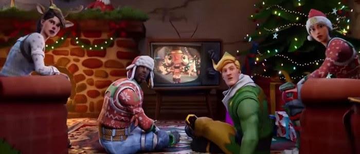 Fortnite Fête Noël Avec La Saison 7 Et Le Nouveau Mode Création